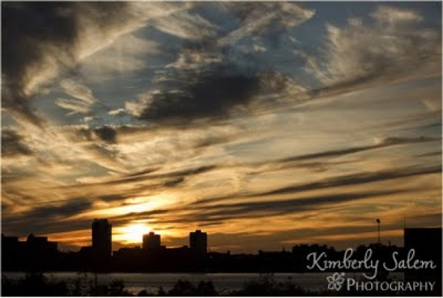 high line sunset by Kimberly Salem photography - saved by Chic n Cheap Living