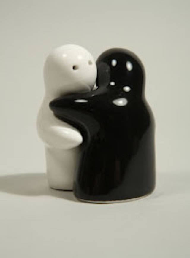 Huggie Salt And Pepper Shakers Saved By Chic N Cheap