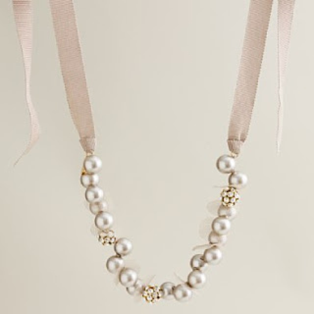 petal pearl necklace - saved by Chic n Cheap Living