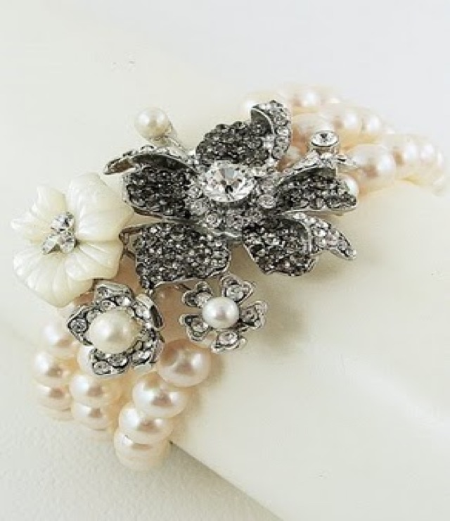 regina b pearl bracelet - saved by Chic n Cheap Living