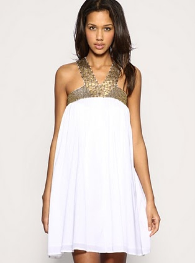 lwd short asos embellished trapeze sundress-saved by Chic n Cheap Living