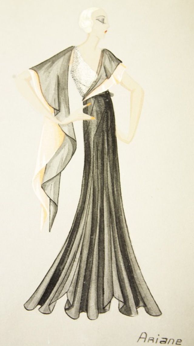 Lanvin sketch evening gown photography by the Selby - saved by Chic n Cheap Living