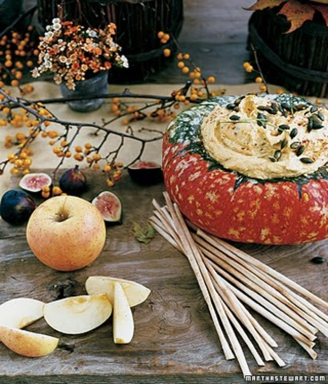squash dip by Martha Stewart - saved by Chic n Cheap Living