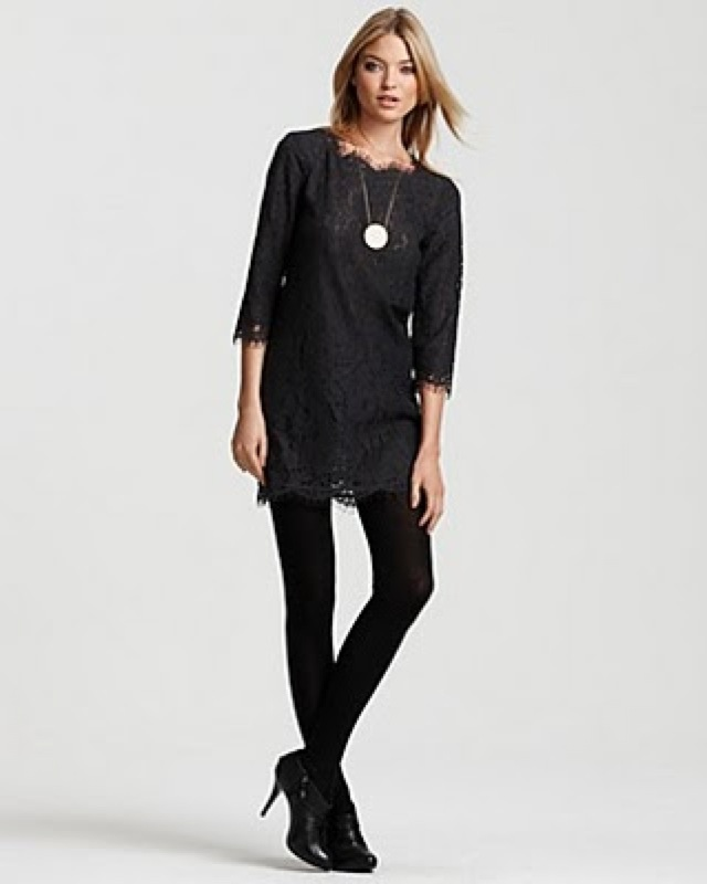 trend - Joie lace dress black - saved by Chic n cheap Living