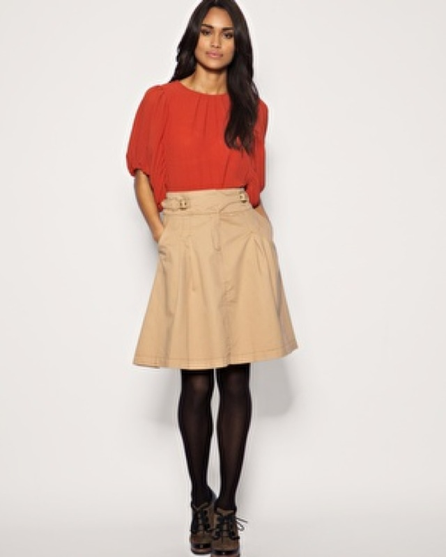 trend Mango buckle waist skirt - saved by Chic n Cheap Living