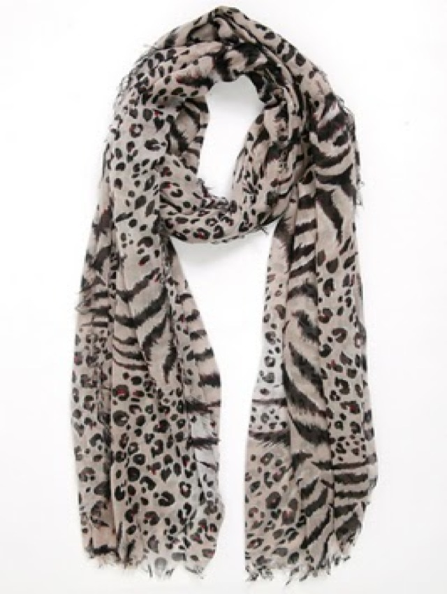 trend - Spun by Subtle leopard scarf - saved by Chic n Cheap Living