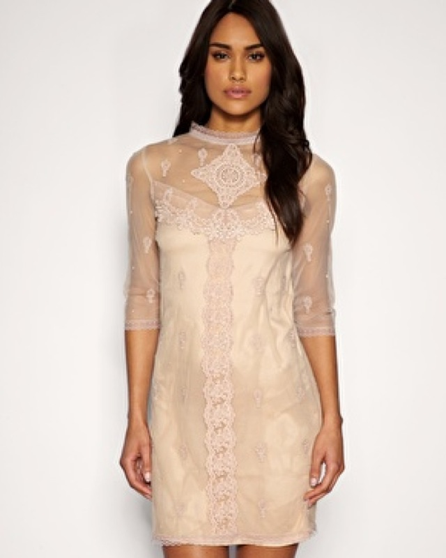 trend lace dress victorian-saved by Chic n Cheap Living