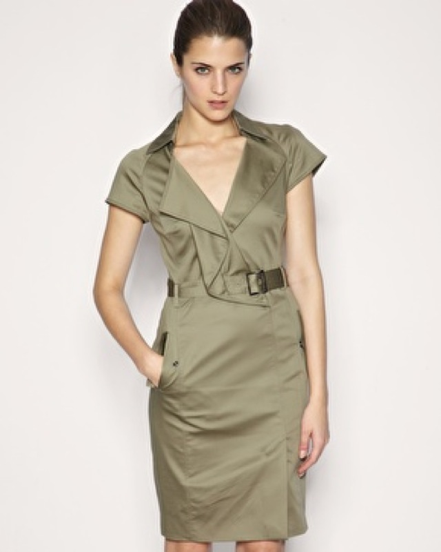 trend min Karen Millen trench dress - saved by Chic n Cheap Living