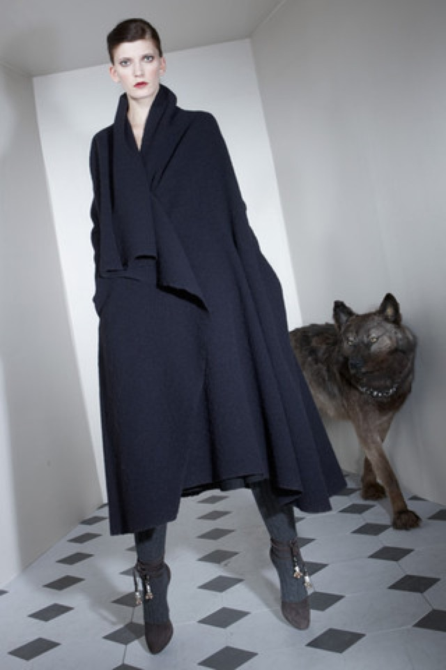 Lanvin-prefall-2011-17_runway6 long menswear coat - saved by Chic n Cheap Living