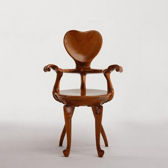 chair baroque wood - saved by Chic n Cheap Living