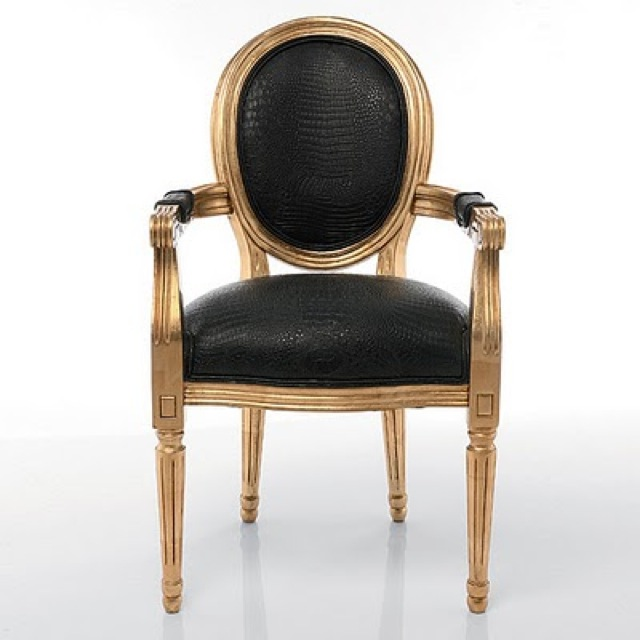 chair cleopatras dark side french bedroom company - saved by Chic n Cheap Living