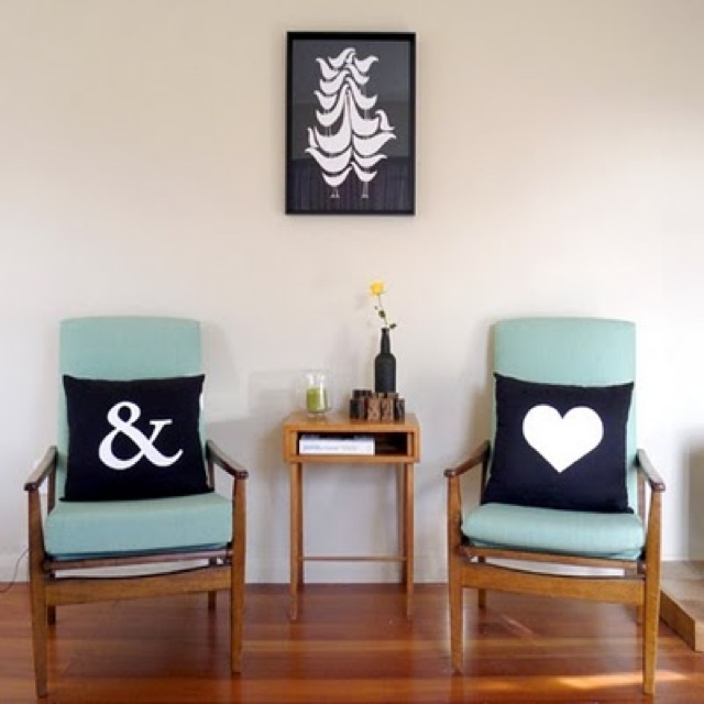 chair pair - saved by Chic n Cheap Living