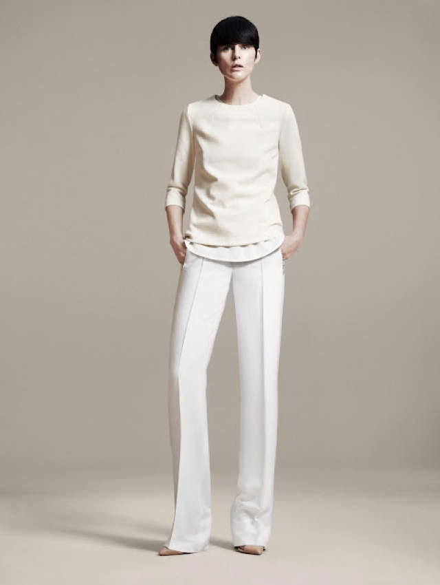 Zara white minimalist outfit spring summer 2011 saved by for Minimalist living clothes