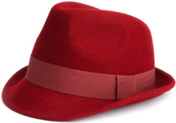 Charlotte Russe Red Fedora Saved By Chic N Cheap Living