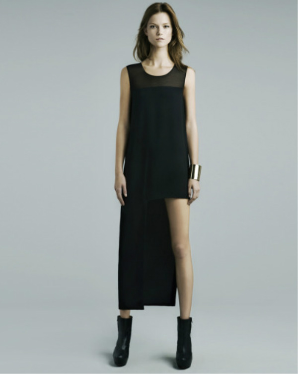 Zara Evening (asymmetry and sequins rule!)