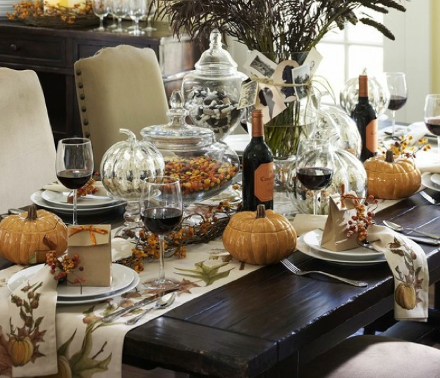 Wr Fall Tablescape Via Pottery Barn On Design Addict Mom Blog Saved By Chic N Cheap Living
