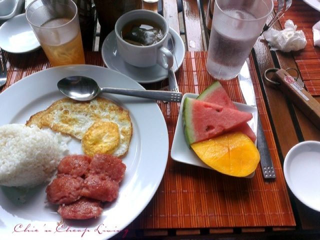 Boracay breakfast taken with HTC One X+ by Chic n Cheap Living
