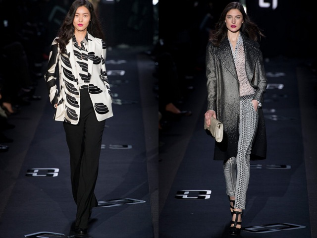 DVF Fall RTW 2013 Look 1 - by Chic n Cheap Living