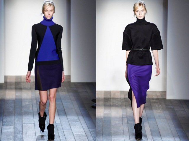Victoria Beckham Fall RTW 2013 Look 1 - by Chic n Cheap Living