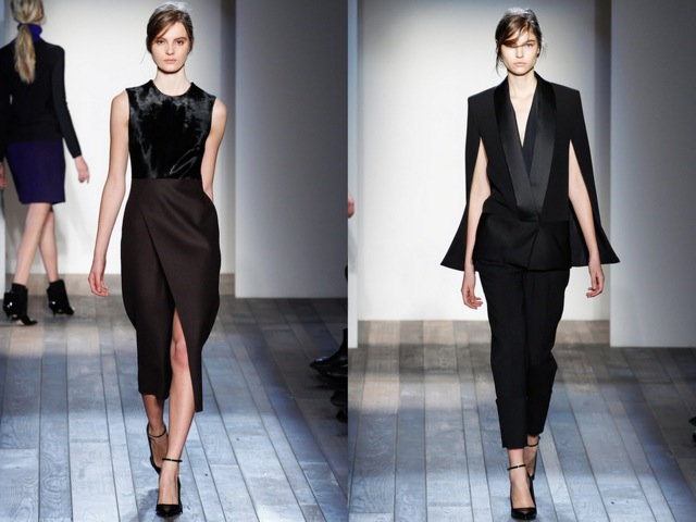 Victoria Beckham Fall RTW 2013 Look 2 - by Chic n Cheap Living