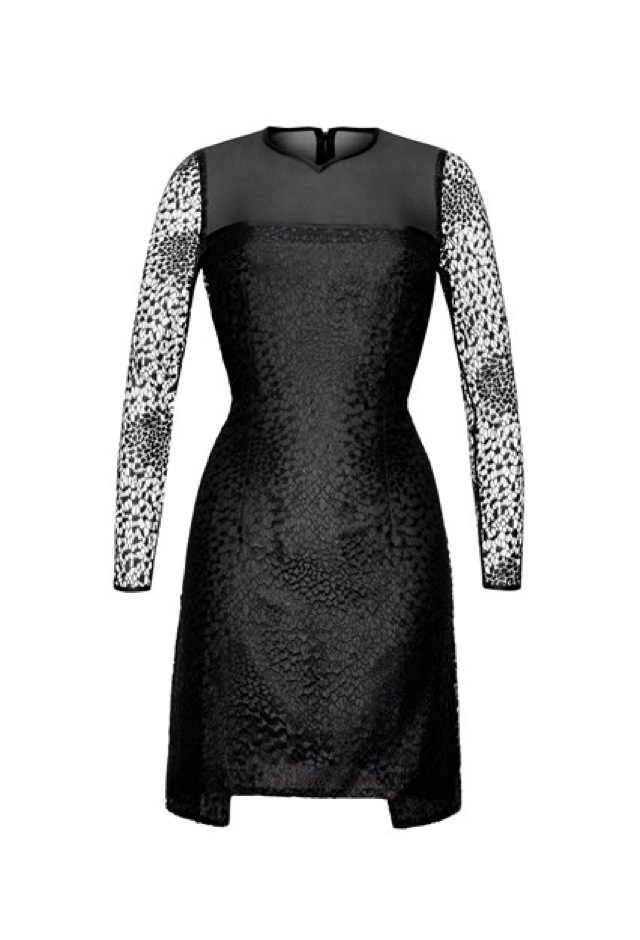 HM Conscious Partywear collection black white dress- saved by Chic n Cheap Living
