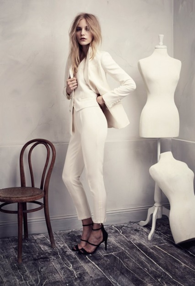 HM Conscious Partywear collection cream blazer - saved by Chic n Cheap Living