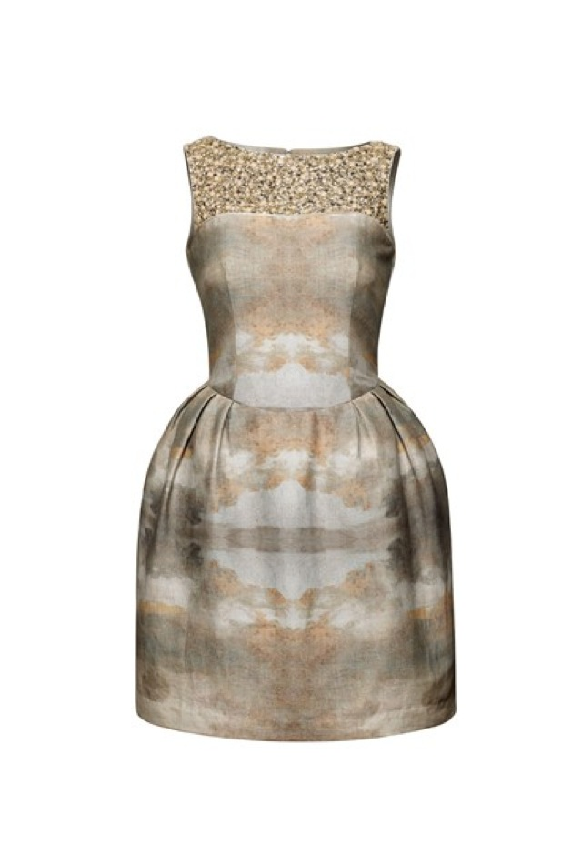 HM Conscious Partywear collection dusty blue dress- saved by Chic n Cheap Living