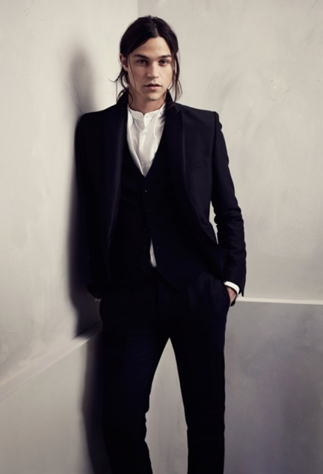 HM Conscious Partywear collection men black suit- saved by Chic n Cheap Living