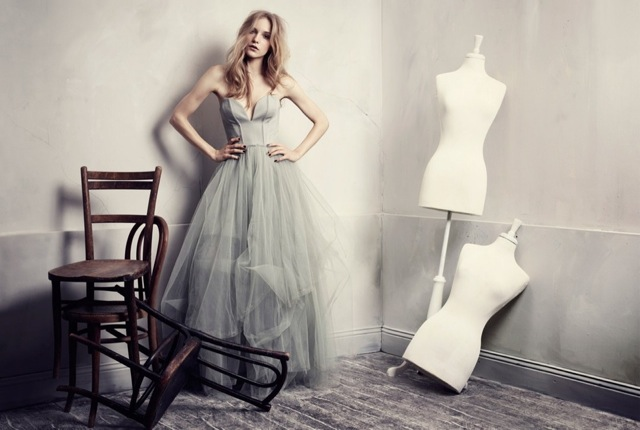 HM Conscious Partywear collection tulle dress - saved by Chic n Cheap Living