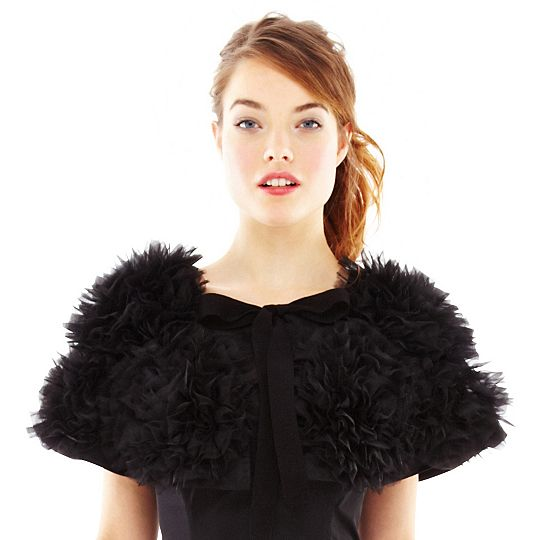 230d0efef9 Pearl by Georgina of Marchesa for JC Penney bolero – saved by Chic n Cheap  Living