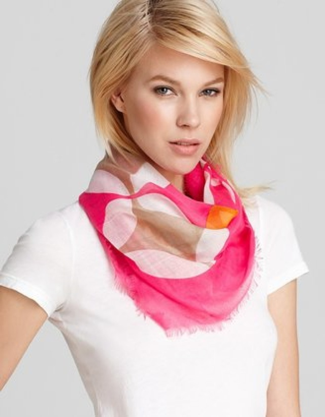 Bloomingdale's Echo Scarf - saved by Chic n Cheap Living