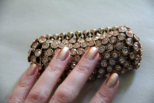 Chanel Delight with rose gold cuff - saved by Chic n Cheap Living