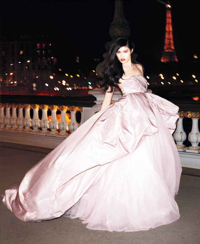 Best of Couture pink gown US Harpers Bazaar May 2013 - saved by Chic n Cheap Living