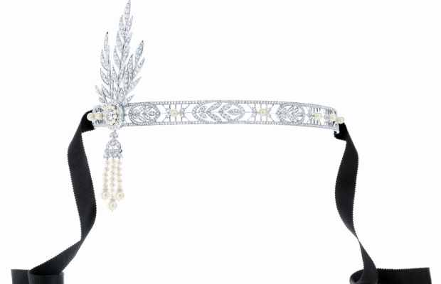 Great Gatsby Tiffany & Co headband - saved by Chic n Cheap Living