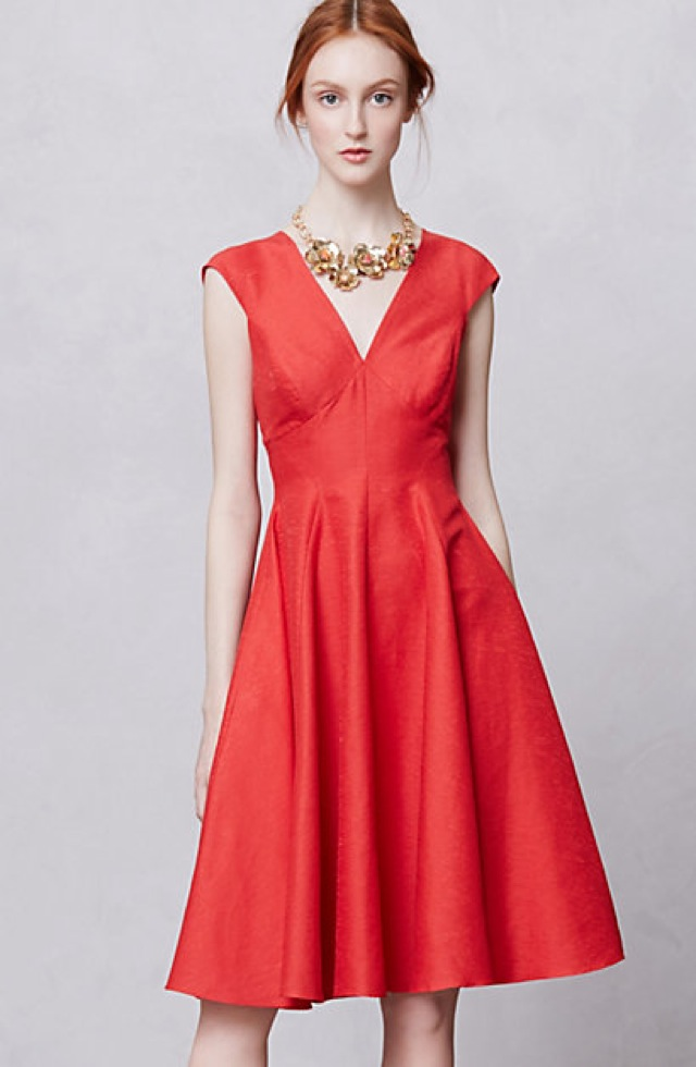 Peter Som for Anthropologie Sophie postcard dress - saved by Chic n Cheap Living