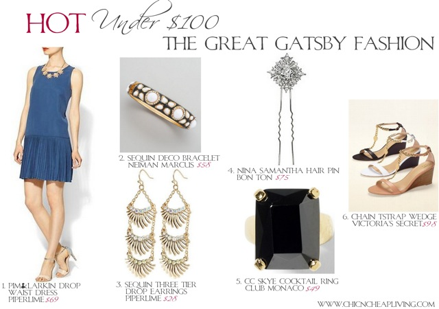 The Great Gatsby Fashion Inspiration - by Chic n Cheap Living