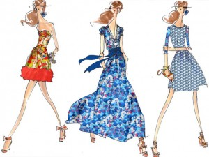 peter-som-sketches for anthropologie on Elle - saved by Chic n Cheap Living