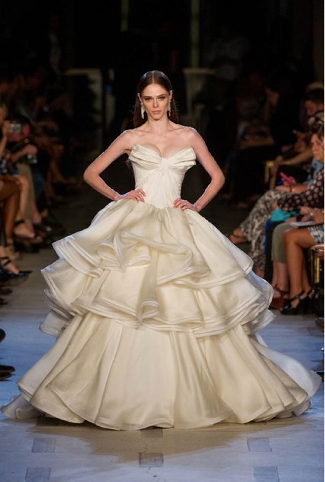 0841de445d3 Zac Posen bridal collection - saved by Chic n Cheap Living - little ...