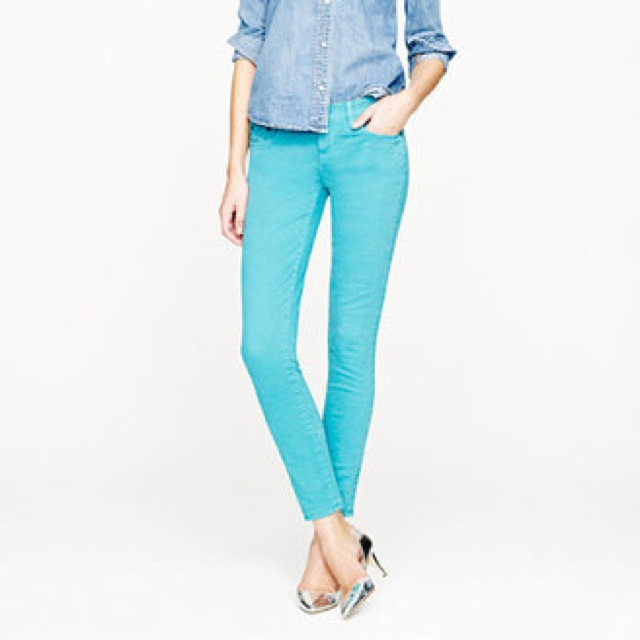 J. Crew toothpick jeans in dyed twill - saved by Chic n Cheap Living