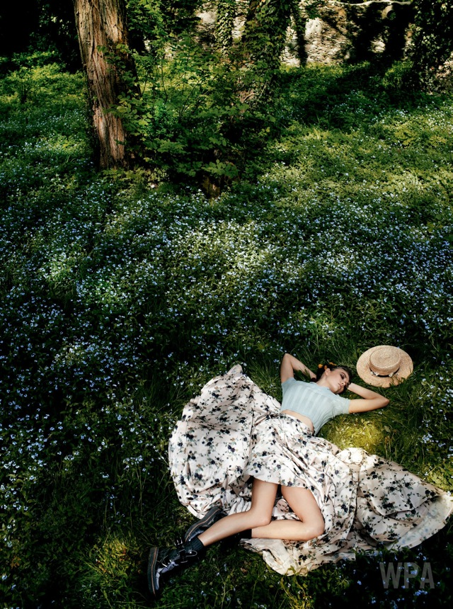 Summer fashion detox with karlie_kloss-vogue_usa-july_2013 on Fashionspot -saved by Chic n Cheap Living