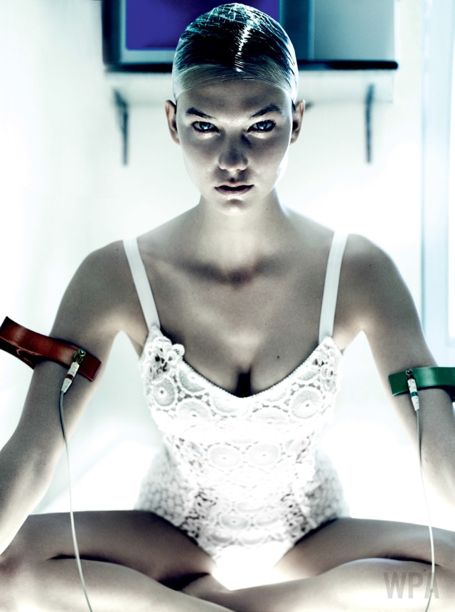 Summer fashion detox with karlie_kloss with IV -vogue_usa-july_2013 on Fashionspot -saved by Chic n Cheap Living