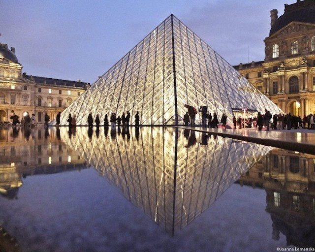 Reflections-of-Paris by Joanna Lemanska by Louvre - saved by Chic n Cheap Living