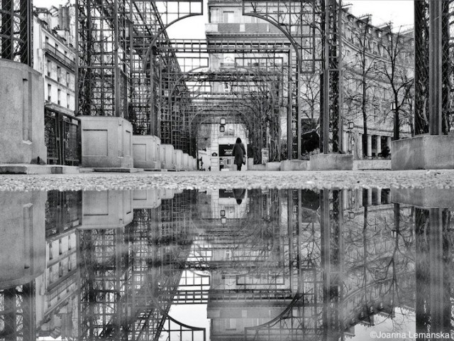 Reflections-of-Paris by Joanna Lemanska by arches - saved by Chic n Cheap Living