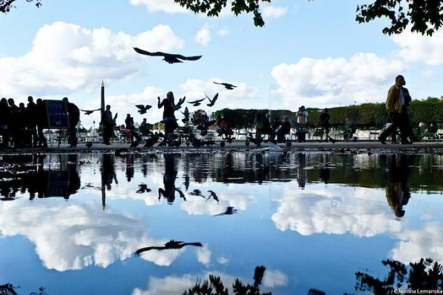 Reflections-of-Paris by Joanna Lemanska by business sculpture - saved by Chic n Cheap Living