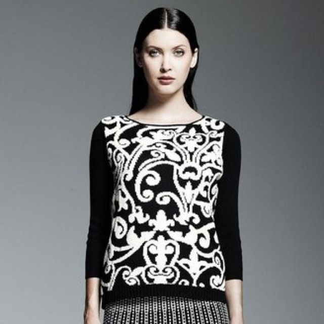 Catherine Malandrino sweater for Designation for Kohl's - saved by Chic n Cheap Living
