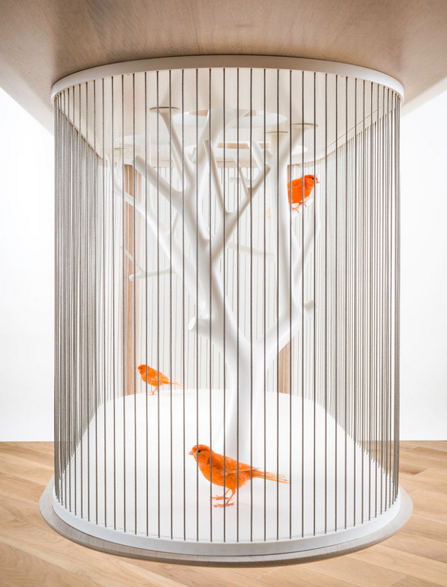 Gregoire De Lafforest birdcage bottom on Fubiz - saved by Chic n Cheap Living