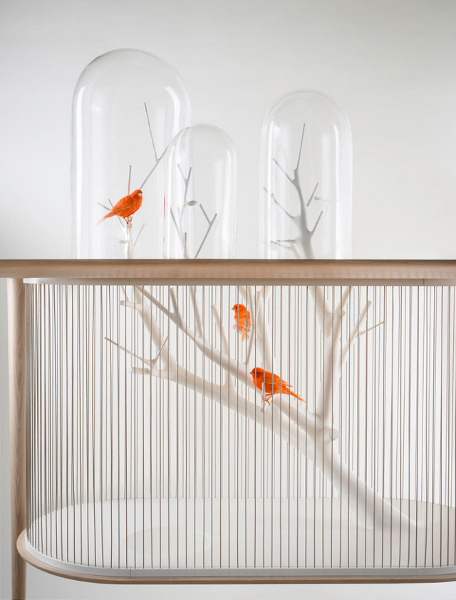 Gregoire De Lafforest birdcage side on Fubiz - saved by Chic n Cheap Living