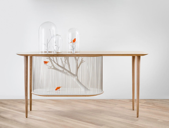 Gregoire De Lafforest birdcage whole on Fubiz - saved by Chic n Cheap Living