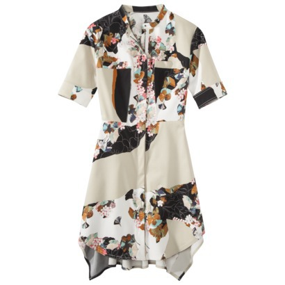 Target Philip Lim Line Shirt Dress Fl Print