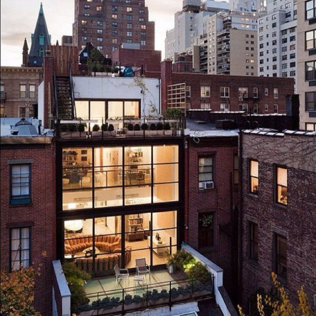 Windows in apartment from design addict mom tumblr saved for Loft apartments in nyc